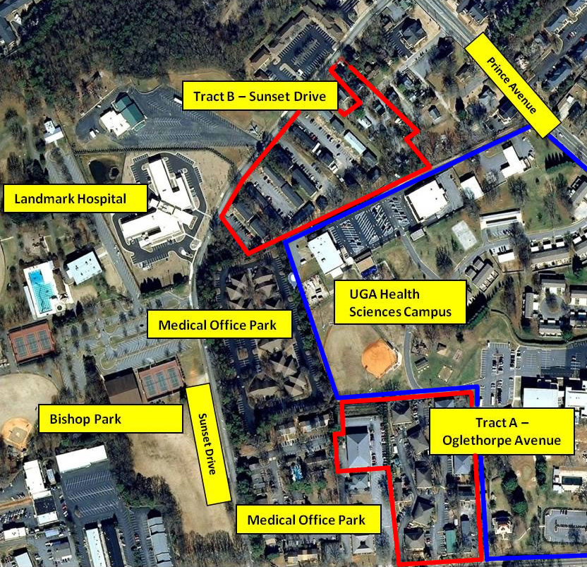 Uga Health Sciences Campus Map.Medical School Property Available Now Athens Georgia